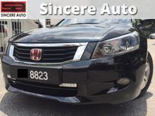(SAVE RM6000)(RAYA PROMOTION) 2009 Honda Accord 2.0 VTi-L Leather Seat Push Start 09