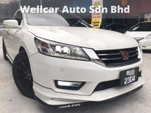 HONDA ACCORD 2.4 EARTH DREAM FULL SERVICE RECORD BY HONDA MUGEN BODYKIT VOSSEN RIMS