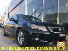 O.T.R NOW RM65,800 ONLY 2011 Honda Accord 2.0 VTi-L (AT) ONE FAMILY OWNER, CLEAN INTERIOR LIKE NEW, ORIGINAL SPEC WITH ACCIDENT FREE PUSPAKOM REPORT