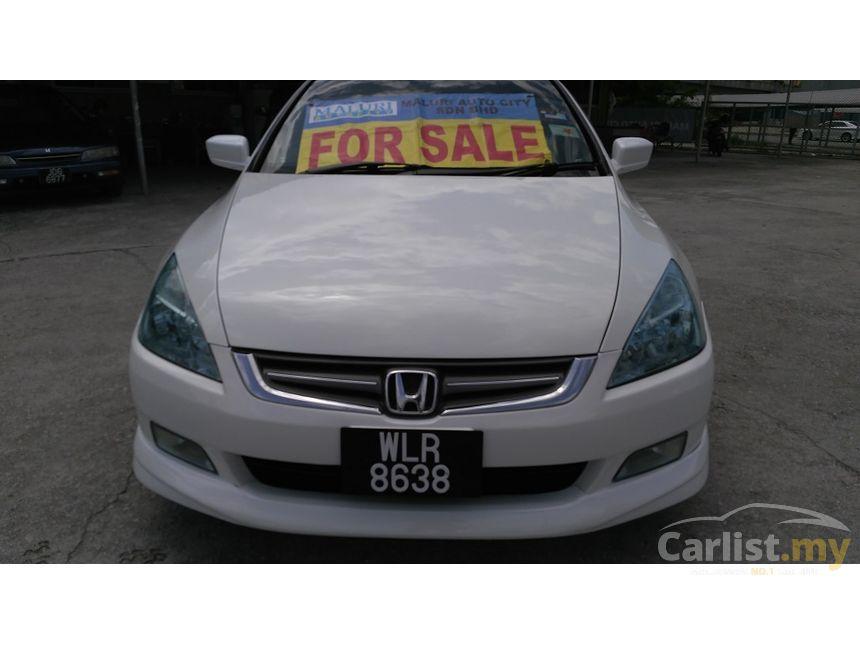 Honda Accord 2004 VTiL 24 in Kuala Lumpur Automatic Sedan White