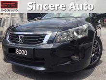 2009 Honda Accord 2.0 VTi-L Nice Plate 8000 Leather Seat 09