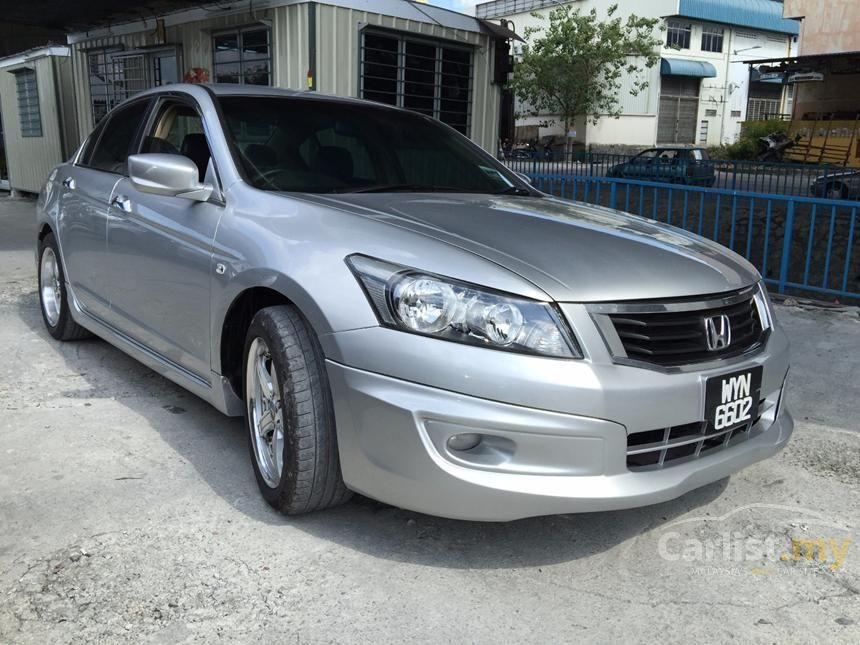 2008 Honda Accord VTi-S Sedan