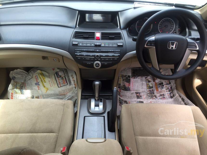 2010 Honda Accord VTi Sedan