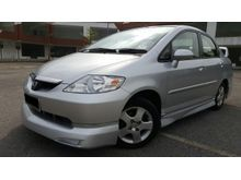 2007 Honda City 1.5 (A) i-DSI - 0 DOWN PAYMENT - FULL LOAN - LIKE NEW - JUST DRIVE AND NO REPAIR