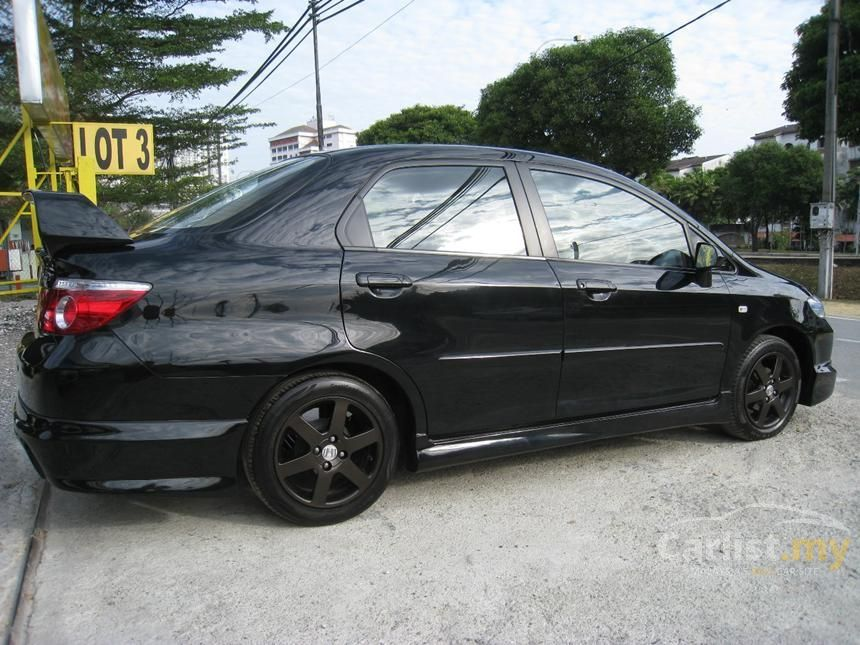 Honda city 2006 black