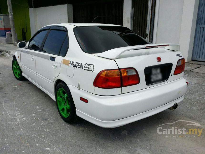 honda civic 1996 exi 1 6 in penang manual hatchback white. Black Bedroom Furniture Sets. Home Design Ideas