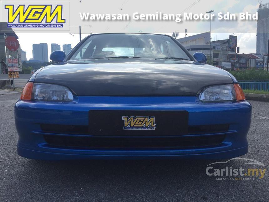 Honda Civic 1994 Exi 16 in Kuala Lumpur Automatic Hatchback Blue