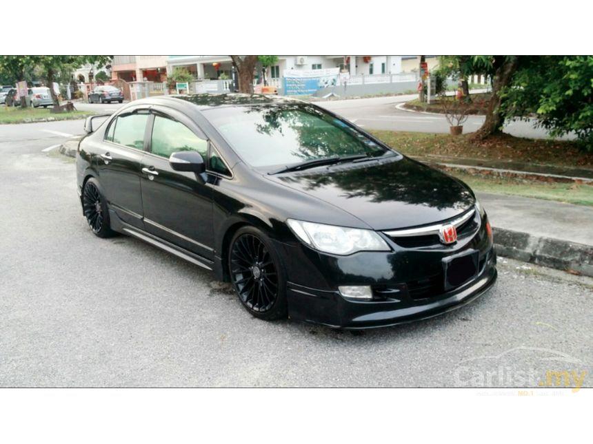 Honda Civic 2017 Malaysia Price >> Honda Civic 2006 i-VTEC 2.0 in Selangor Automatic Sedan Black for RM 55,800 - 3593337 - Carlist.my