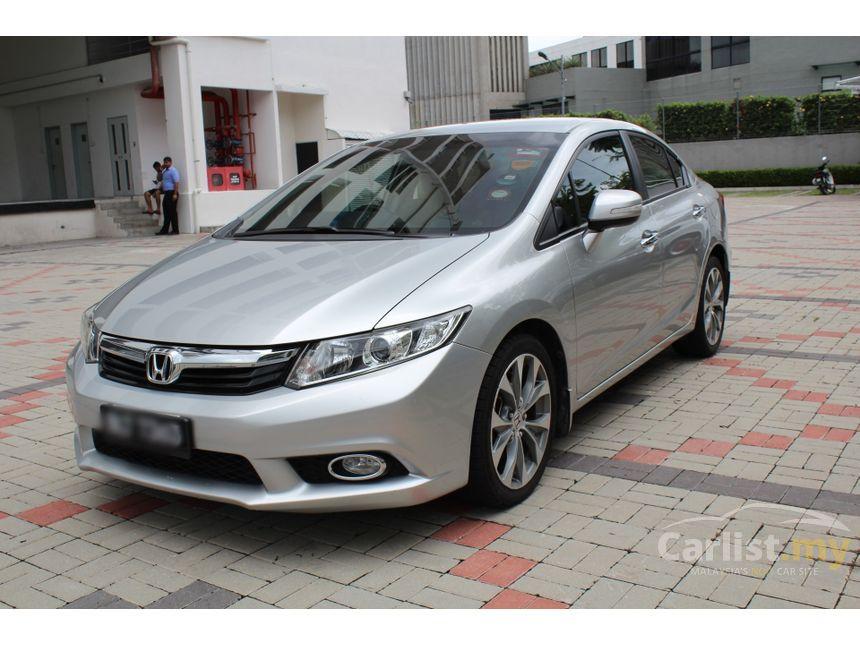 Honda Civic 2012 S I Vtec 2 0 In Selangor Automatic Sedan