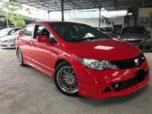 ACTUAL YEAR MAKE 2008 HONDA CIVIC 1.8(A)FULL RR BODYKIT ,1 OWNER.TIP TOP CONDITION.JUST DRIVE