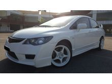 2012 Honda Civic 1.8 (A) FULL LOAN  - TYRE R BODY KIT - LIKE NEW - TIP TOP CONDITION - JUST DRIVE AND NO REPAIR