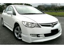 2008 Honda Civic 1.8l (A) TIP TOP CONDITION LIKE NEW