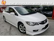 Honda Civic 1.8 S ** NEW FACELIFT MODEL  $$ APRIL CARNIVAL SALES $$ ORIGINAL CONDITION ** FULL BODYKITS **  EXCELLENT CONDITIONS**