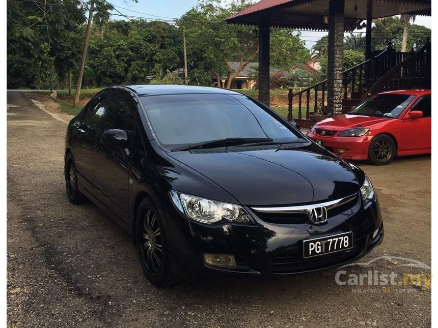 honda civic 2006 s i vtec 1 8 in pahang automatic sedan black for rm 44 800 3702437. Black Bedroom Furniture Sets. Home Design Ideas