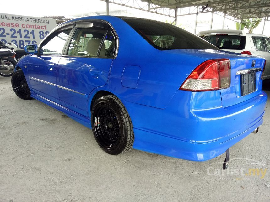 Honda civic 2005 vtec 1 7 in selangor automatic sedan blue for 2005 honda civic oil