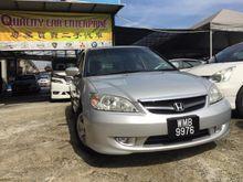 2004 Honda Civic 1.7 VTEC Sedan 10000% ORIGINAL PAINT, CONFIRM BELI PAKAI SAHAJA... SUMPAH