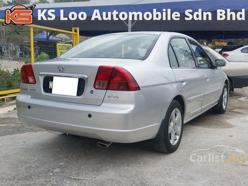 2002 Honda Civic VTi-S Sedan