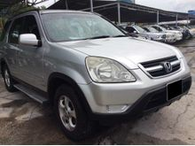 2003 HONDA CRV 2.0 iVTEC * LOW MILEAGE * ENGINE SMOOTH * SUSPENSION NICE * GEARBOX GOOD * PLEASE CALL US NOW *