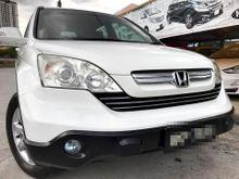 2010 Honda CR-V 2.0 i-VTEC SUV FULL SPEC LEATHER SEAT DVD 1OWNER FULLOAN FREE GST
