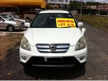 Honda CR-V 2.0 i-VTEC Auto SUV.One Lady Owner,Pearl White,4 Disc Brake,ABS,2 Air Bag,Sport Rim......