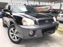 HYUNDAI SANTA FE 2.7 V6 AWD SUV 1 CAREFUL OWNER ACCIDENT FREE