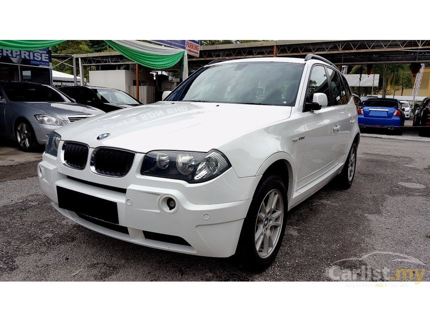 bmw x3 2007 si 2 5 in kuala lumpur manual suv white for rm. Black Bedroom Furniture Sets. Home Design Ideas