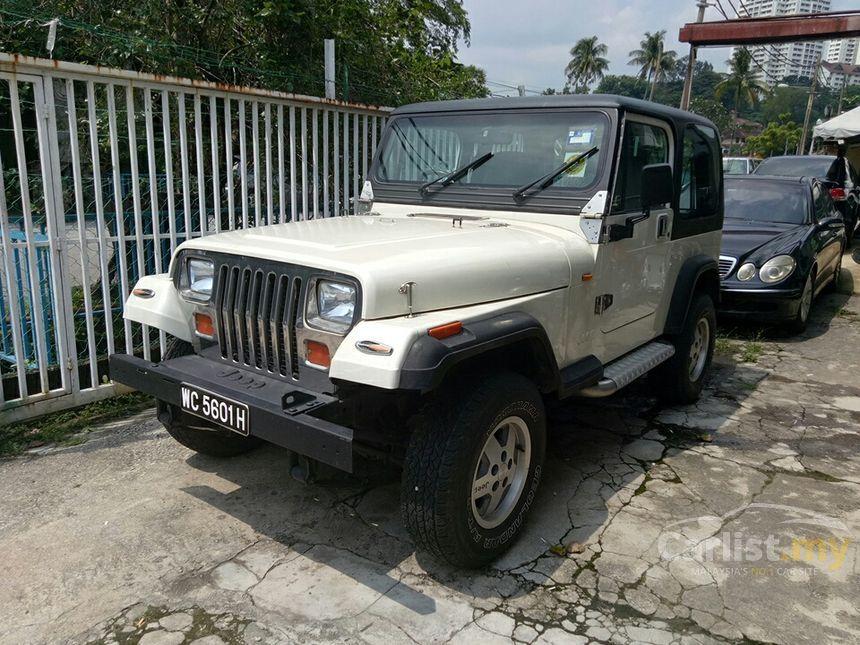 Jeep Wrangler In Kuala Lumpur Manual Suv White For Rm
