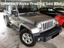 2014 JEEP WRANGLER 3.6 UNLIMITED SAHARA SUV (LOCAL SPEC) (ALL WHEEL DRIVE) (FULL SERVICES RECORD) (UNDER WARRANTY) (33K LOW MILEAGE) (REGISTER 2015)