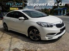 Kia Cerato K3 1.6 (A) LEATHER SEAT FULL SERVICE RECORD FULL BODYKIT Sedan