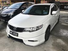 Kia Forte 1.6 (A) 2010 1 Owner Only Car King TipTop Condition Full BodyKit