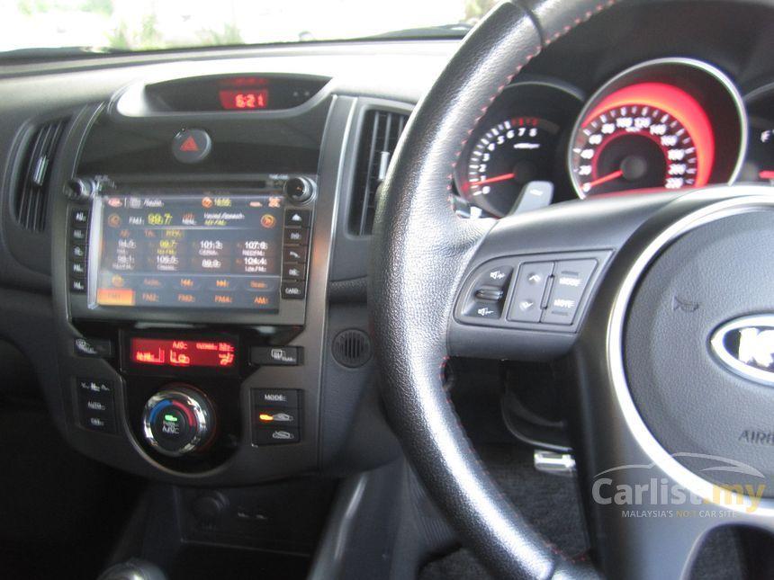 2013 Kia Forte SX Sedan