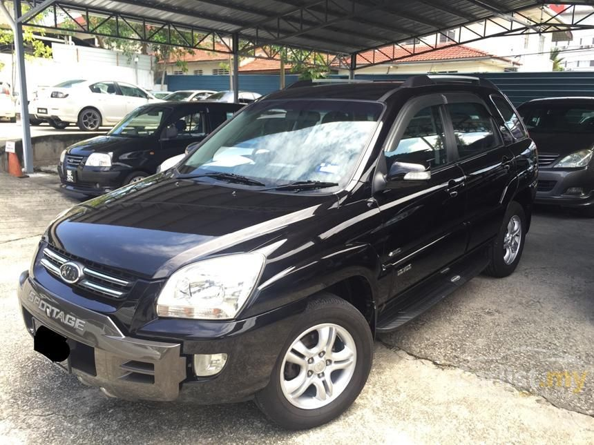 kia sportage 2008 2 0 in kuala lumpur automatic suv black for rm 28 800 3114430. Black Bedroom Furniture Sets. Home Design Ideas