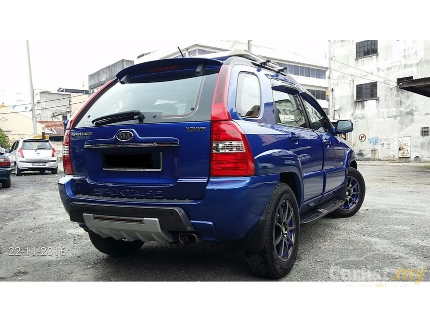 kia sportage 2007 2 0 in selangor automatic suv blue for rm 19 800 3801813. Black Bedroom Furniture Sets. Home Design Ideas