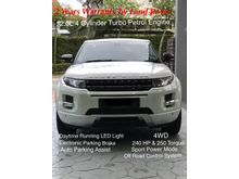 Range Rover Evoque 2Y Warranty by Land Rover