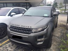 2011 Land Rover Range Rover Evoque Si4 Dynamic Package