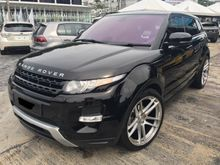 2012 Land Rover Range Rover Evoque 2.0 Si4 SUV (LOW MIL) TURBOCHARGED
