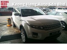 GST WE ABSORB Land Rover Range Rover Evoque 2.0 Si4 SUV CBU Mileage 54k km Full Service Warranty to 2019