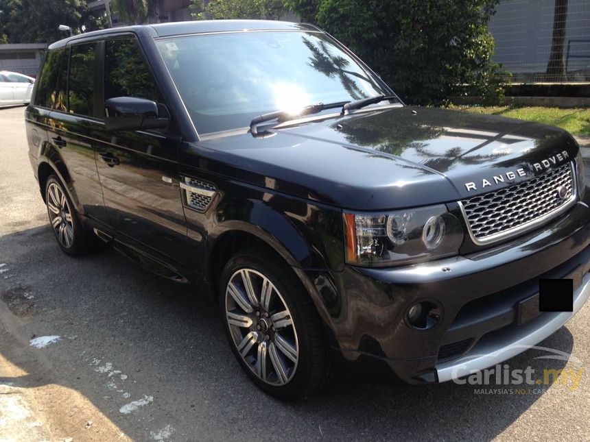 land rover range rover sport 2013 autobiography 5 0 in selangor automatic suv black for rm. Black Bedroom Furniture Sets. Home Design Ideas