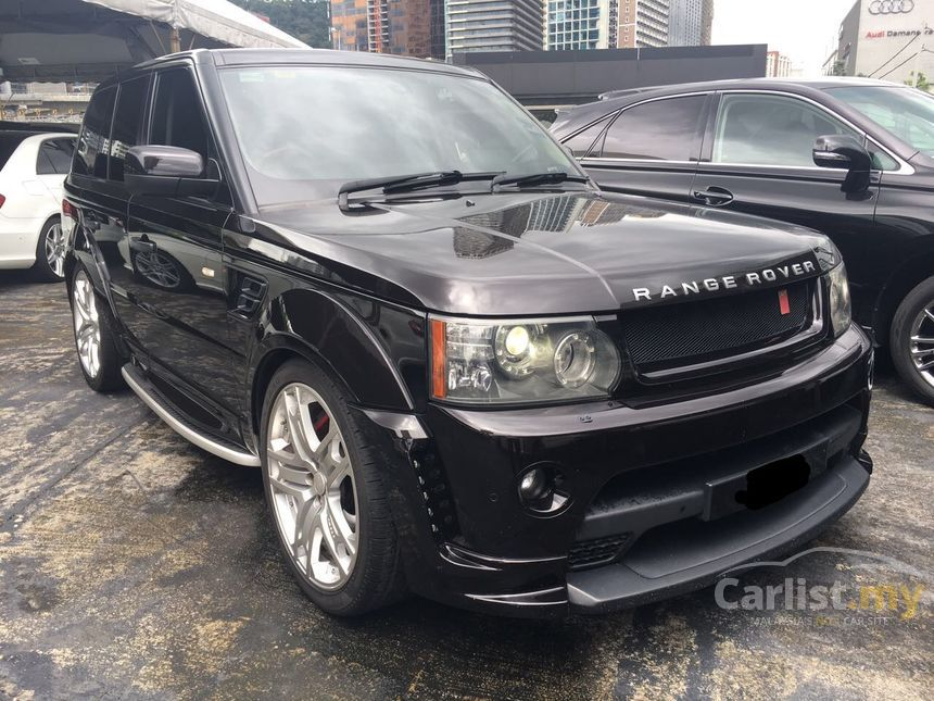 Land Rover Range Rover Sport 2010 V8 Supercharged 50 In Kuala