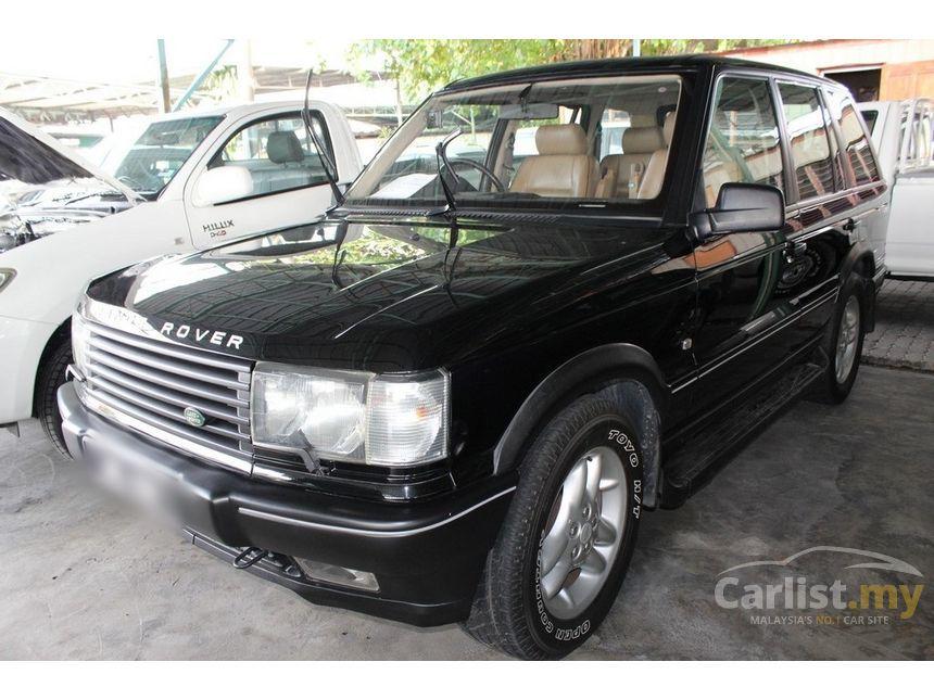 Land Rover Range Rover In Perak Automatic Suv Black For