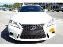 2013 Lexus IS250 2.5 F Sport (A)