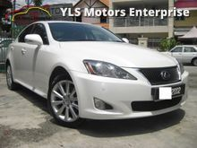 2010 Lexus IS250 2.5 (A) V6 Sports Pacjage Leather Seats Black Interior CBU Japan Premium Sound System