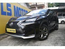 (ORI YEAR MADE 2015,F SPORT MODEL)(NX200)(LOCAL LEXUS MAL BRAND NEW)(15KKM DONE ONLY)(1DATIN OWNER,4NEW TYRE,UNDER WARRANTY TILL 2019)OFFER