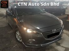 2015 MAZDA 3 2.0 (A) SKY ACTIVE TIP TOP CONDITION
