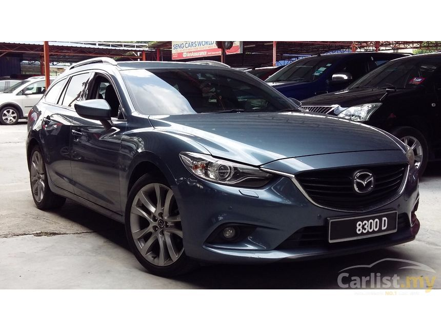 mazda 6 2014 skyactiv g touring 2 5 in kuala lumpur automatic wagon blue for rm 118 800. Black Bedroom Furniture Sets. Home Design Ideas