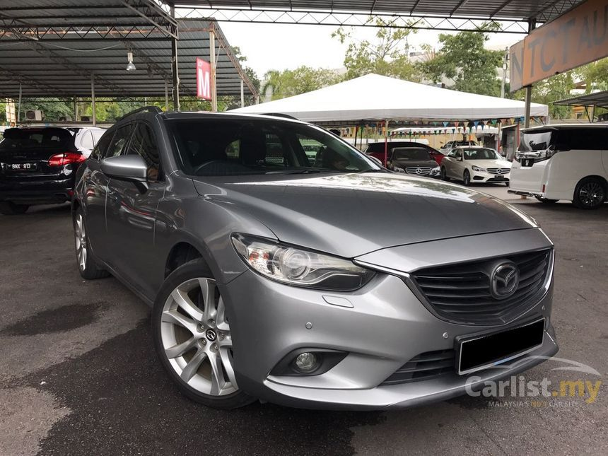 mazda 6 2014 skyactiv g touring 2 5 in kuala lumpur automatic wagon grey for rm 118 888. Black Bedroom Furniture Sets. Home Design Ideas