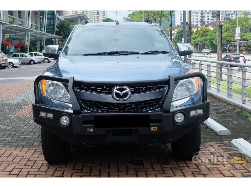 mazda bt-50 2013 3.2 in penang automatic pickup truck green for rm