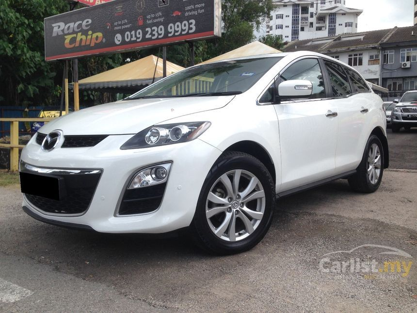 mazda cx-7 2010 2.3 in kuala lumpur automatic suv white for rm