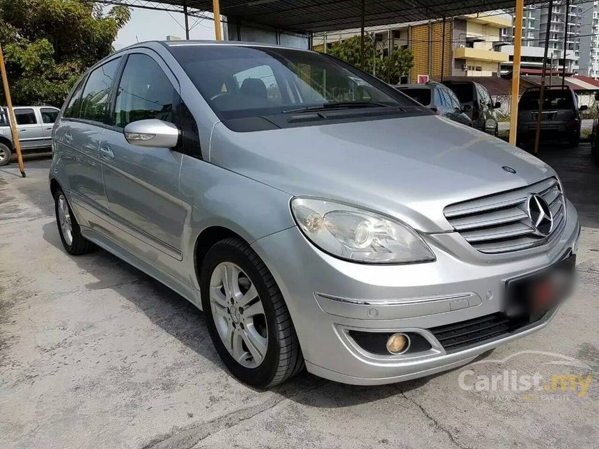 mercedes benz b170 2006 avantgarde 1 7 in penang automatic hatchback silver for rm 52 800. Black Bedroom Furniture Sets. Home Design Ideas