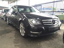 2012 Mercedes-Benz C180 1.8 BlueEFFICIENCY Sport Panoramic Roof LED Daytime Running Light Xenon Light
